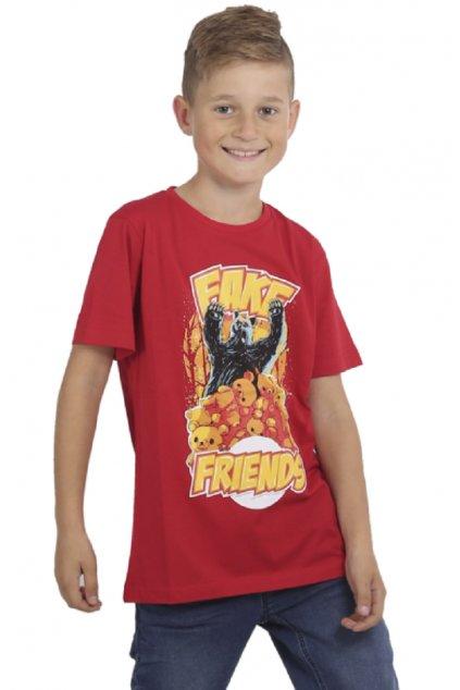 Yakuza dětské tričko Fake Kids TSB 15407 ribbon red
