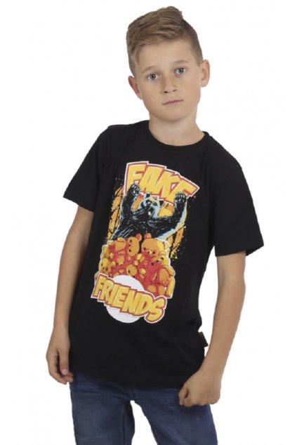 Yakuza dětské tričko Fake Kids TSB 15407 černé