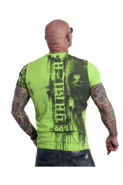 Pánské triko Yakuza Waiting Death TSB 10020 zelené