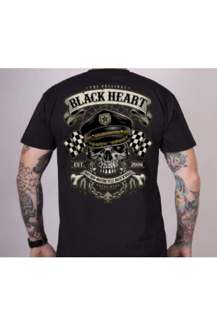 Pánské triko Black Heart OLD SCHOOL RACER