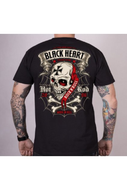 Pánské triko Black Heart CRUSTY DEMONS