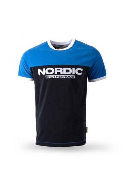 Pánské triko Thor Steinar Tričko Nordic Brotherhood 10271 modré