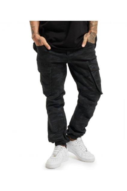 Pánské džiny Yakuza  Gravel Grip Cargo Pants CPB 18084 camouflage black