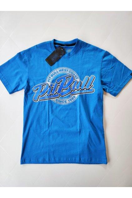 Pánské triko PITBULL WEST COAST Since1989 modré
