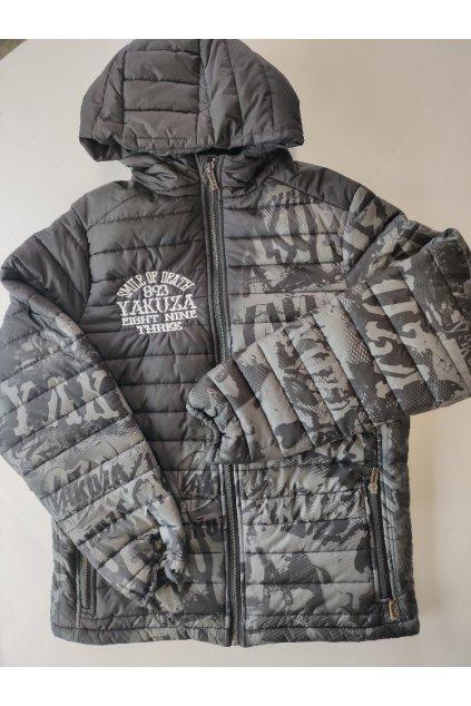 Pánská bunda Yakuza Allover 10040 black/grey