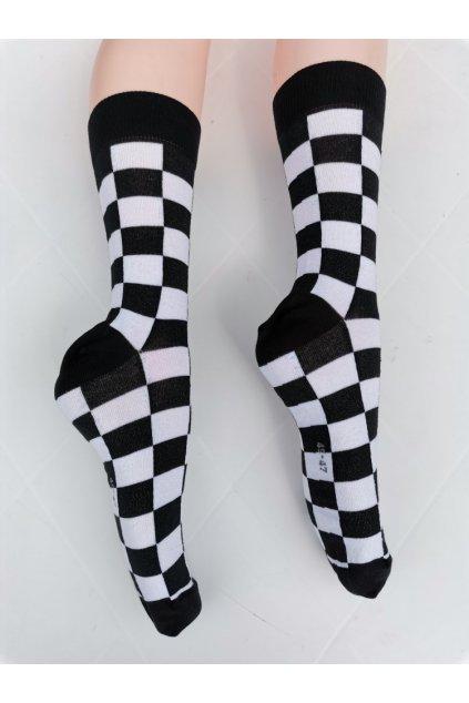 Ponožky unisex BLACK & WHITE vysoké