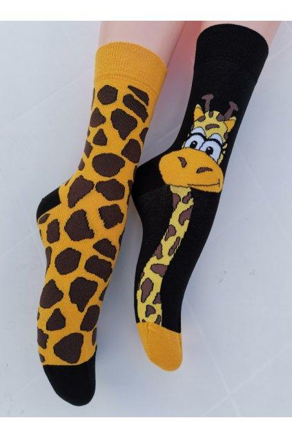Ponožky unisex ŽIRAFA