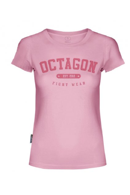 Dámské triko Octagon est.2010 pink