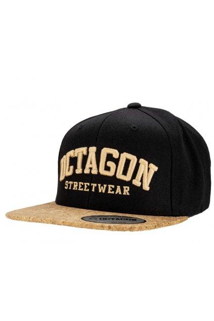 Snapback Octagon Cork black/gold