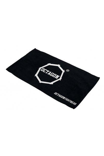 Osuška Octagon Logo black