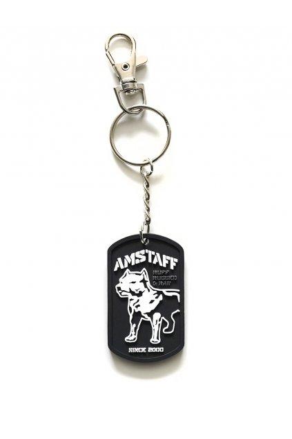 Amstaff přívěsek na klíče