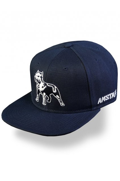 Pánská kšiltovka Amstaff Timus Snapback Cap Timus - modrá