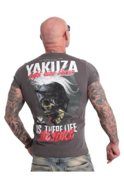 panske triko yakuza 18039 grey