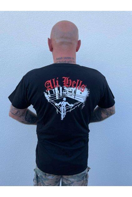 Pánské triko Ali Hells black