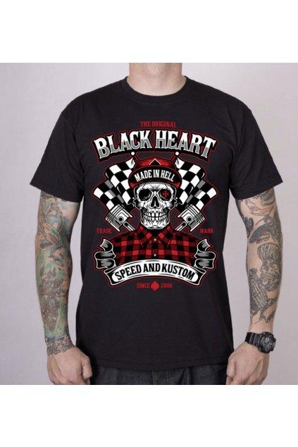 Pánské triko Black Heart SPEED AND KUSTOM