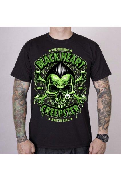 Pánské triko Black Heart CREEPSTER