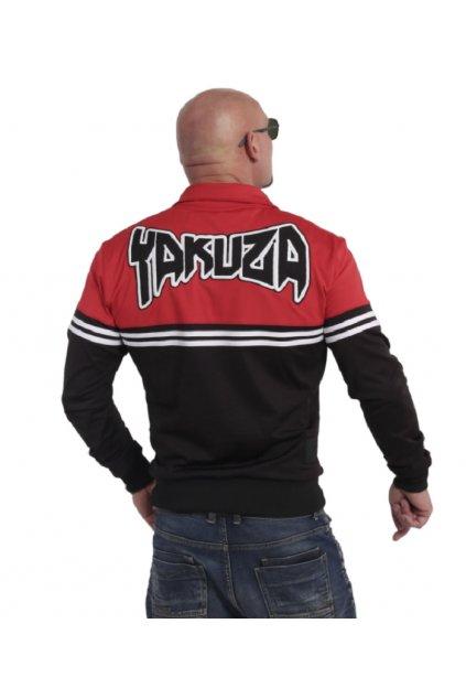 Yakuza mikina se zipem Toxin training Jacke ZB 17016 schwarz/rot