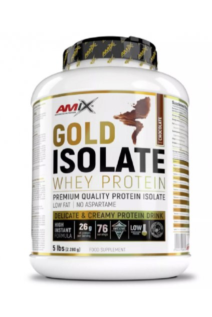 AMIX GOLD WHEY PROTEIN ISOLATE Chocolate 2280g