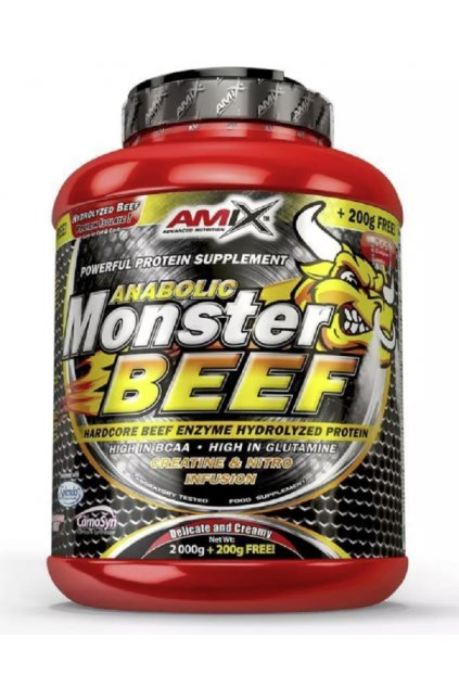 AMIX ANABOLIC MONSTER BEEF 90% PROTEIN Chocolate 2200g