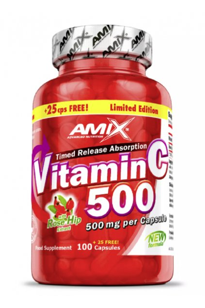 AMIX VITAMIN C 500MG 125cps