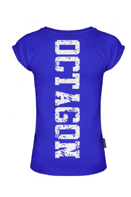 TRIKO DÁMSKÉ OCTAGON Fight Wear blue