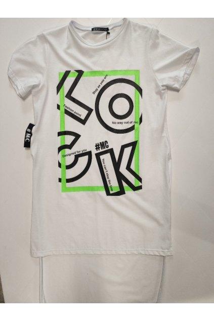 Dámské triko MISS CITY LO-CK bílé