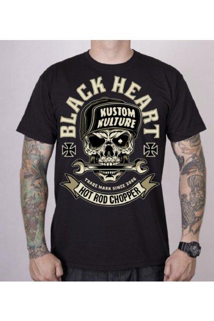 Pánské triko Black Heart LEGEND