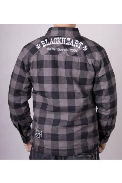 Pánská zateplená košile BLACK HEART DUKE Lined
