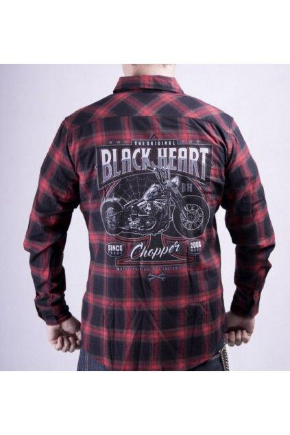 Pánská Košile BLACK HEART FLOCK CHOP