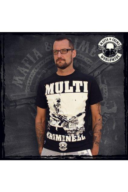 Mafia & Crime pánské triko Multi Kriminnel obr1