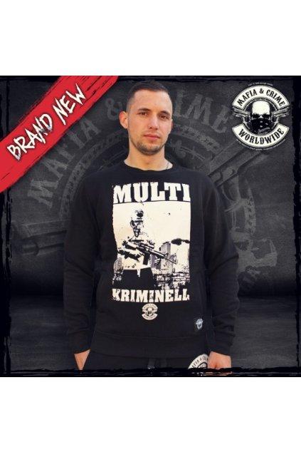 Pánská mikina Mafia & Crime MC Multi Kriminell obr1