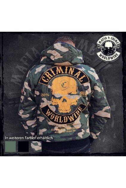 Zimní bunda Mafia & Crime Camouflage obr1