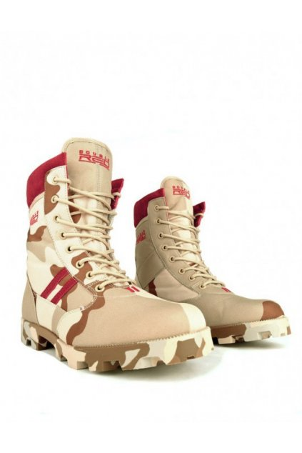 Boty Red Jungle Desert Camo obr1