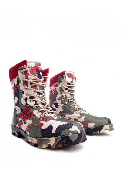 Boty Red Jungle Camodresscode obr1