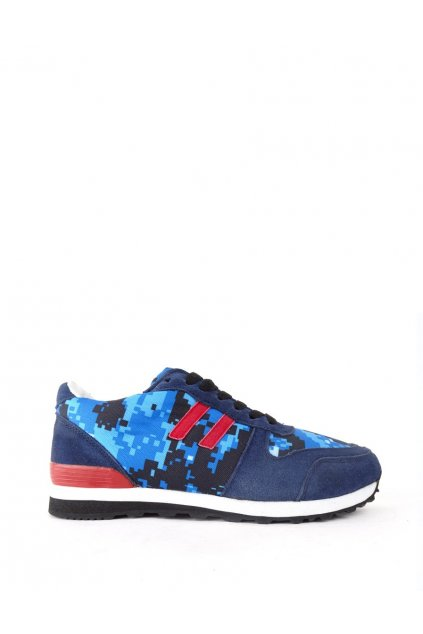 Double Red DR Camo Blue DIGI Sneakers obr1