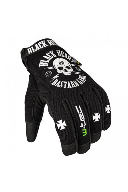 Moto rukavice W-TEC Black Heart Radegester přední strana