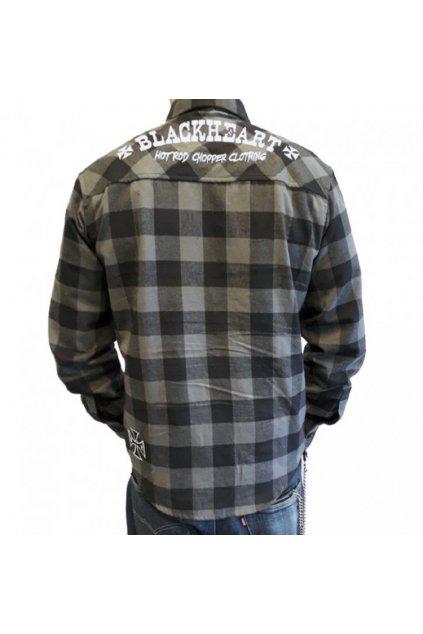 Pánská Košile BLACK HEART Duke přední strana