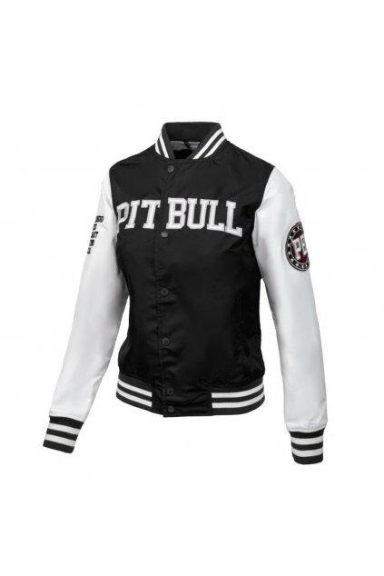 PitBull West Coast - dámská letní bunda TEQUILA černo/bílá obr1