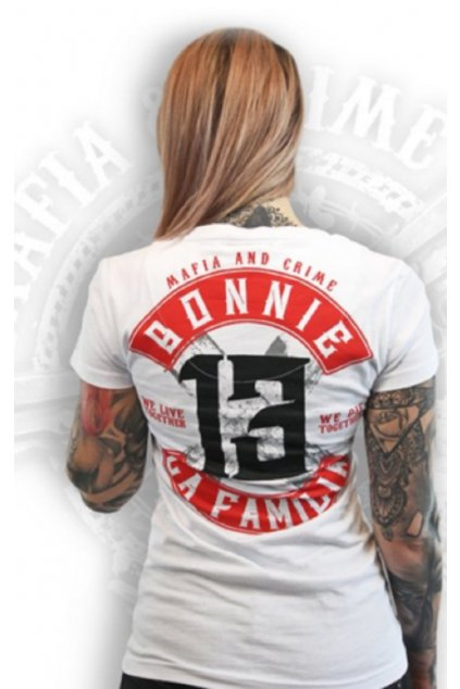 Mafia & Crime triko dámské Bonnie & Clyde obr1