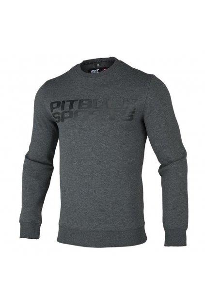 PitBull West Coast - mikina FLIPPER tmavě šedá obr1