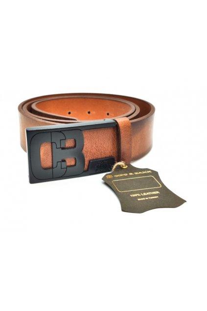 Pánský pásek CIPO & BAXX CG131 taba