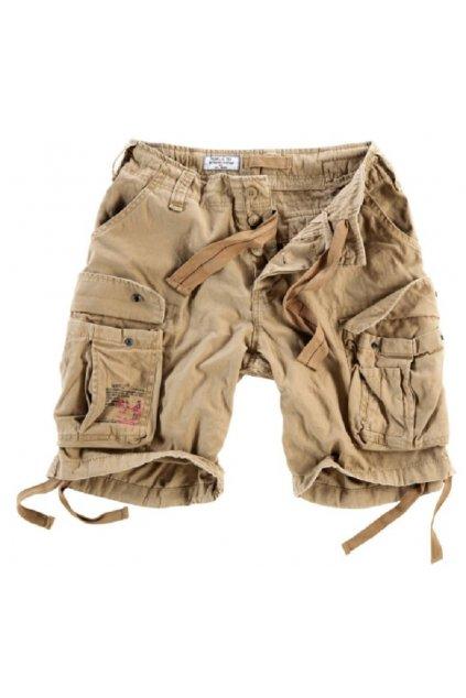 Kraťasy Airborne Vintage Shorts - béžové obr1