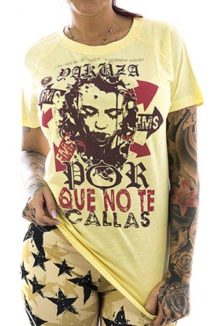 Por Que No T-Shirt GSB 12112 pale banana obr1