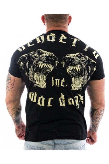 Vendetta pánské triko War Dogs 1065 černá obr1
