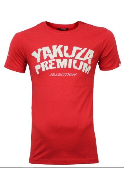 Yakuza Premium pánské triko Promo červená obr1