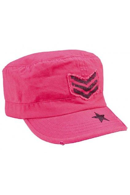 Dámská ARMY kšiltovka Rothco pink přední strana