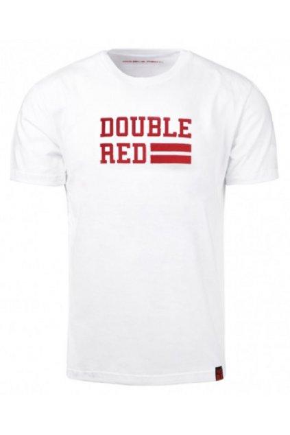 T-Shirt UNIVERSITY OF RED White obr1