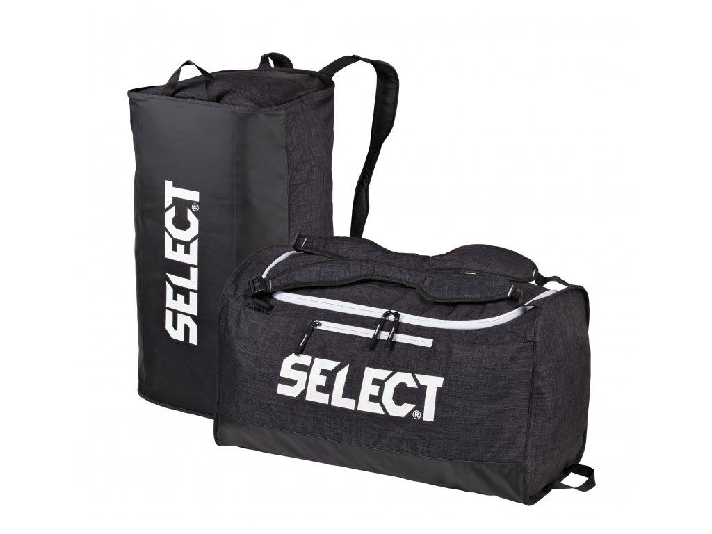 sportsbag lazio medium black x2