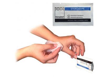 Dezinfekční ubrousky Sterowipe proti virům - sada 10-ti kusů