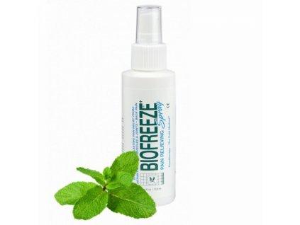BIOFREEZE Spray proti bolesti na bázi přírodního mentolu - 118 ml